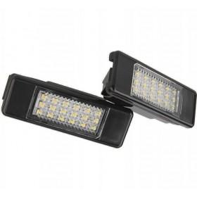 LED подсветка номер Пежо Ситроен № 9682403680