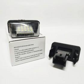 LED подсветка номер Пежо Ситроен № 6340A3