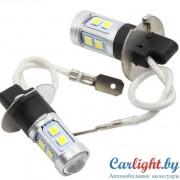LED Лампа H3 в ПТФ 12-24В