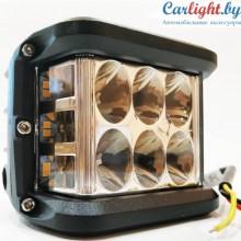Прожектор - стробоскоп LED оранжевая подсветка