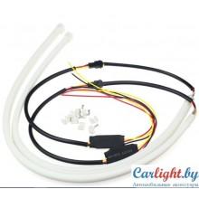 Светодиодные гибкие трубки ДХО + поворот