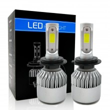 Лампы h7 серии LED S2 комплект светодиодные