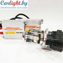 Лампы h4 биксенон с блоками Omega Light Slim комплект