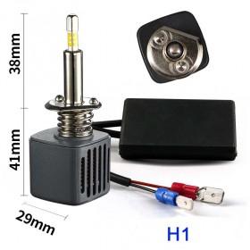 Светодиодные лампы h1 F2 матрица Samsung